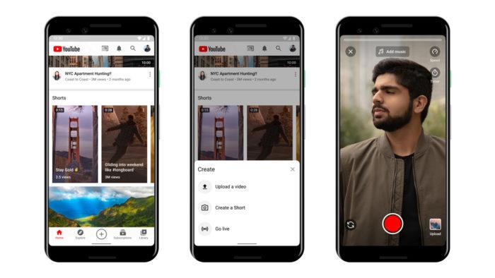 Youtube lança Shorts, ferramenta de vídeos curtos para concorrer com o TikTok 3